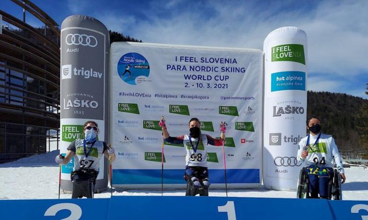 Aline Rocha fechou o pódio na prova dos 5km cross-country na Eslovênia Share on WhatsApp Share on Facebook Share on Twitter Share on Linkedin | Foto: Divulgação | CBDN - Foto: Divulgação | CBDN