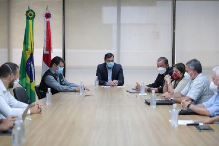 Resultados obtidos pelo novo comitê vão orientar a tomada de decisões do Governo do Estado | Foto: Diego Peres | Secom AM - Foto: Diego Peres | Secom AM