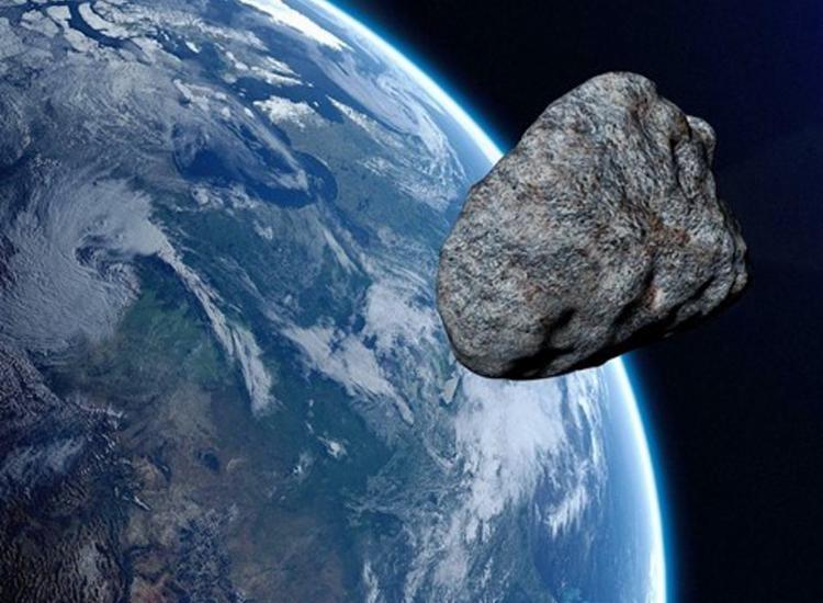 Asteroide estará a dois milhões de quilômetros de distância, sem qualquer risco de colisão - Foto: Reprodução