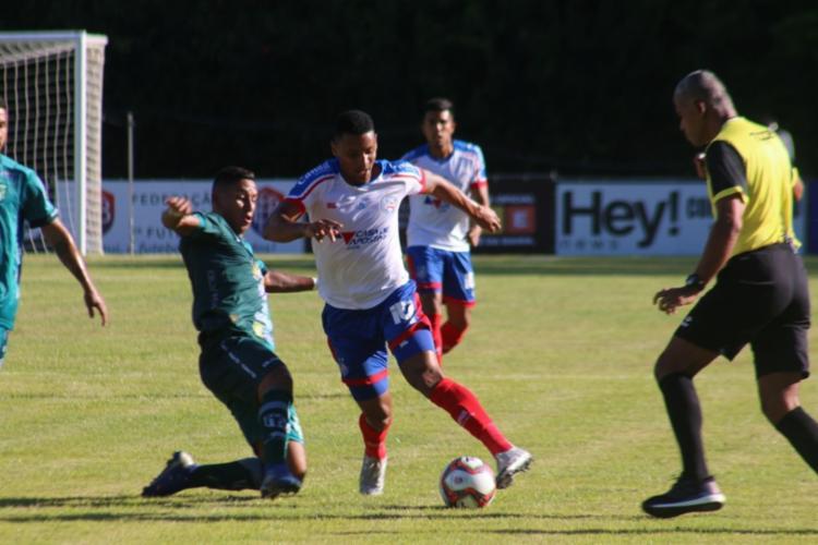 Em jogo apático, Bahia ficou no empate com Vitória da Conquistasta - Foto: Bruno Queiroz / EC Bahia