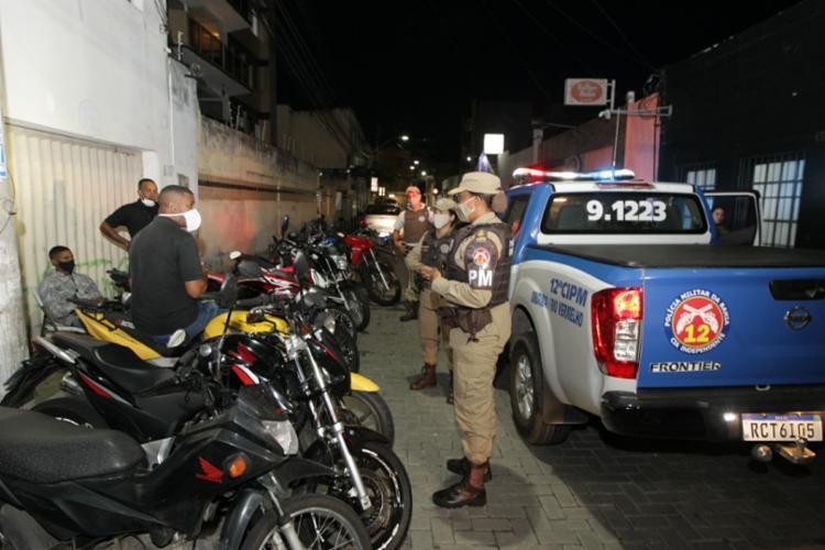 Pessoas que insistem em não cumprir o decreto são levadas à delegacia | Foto: Fernando Vivas | GOVBA - Foto: Fernando Vivas | GOVBA