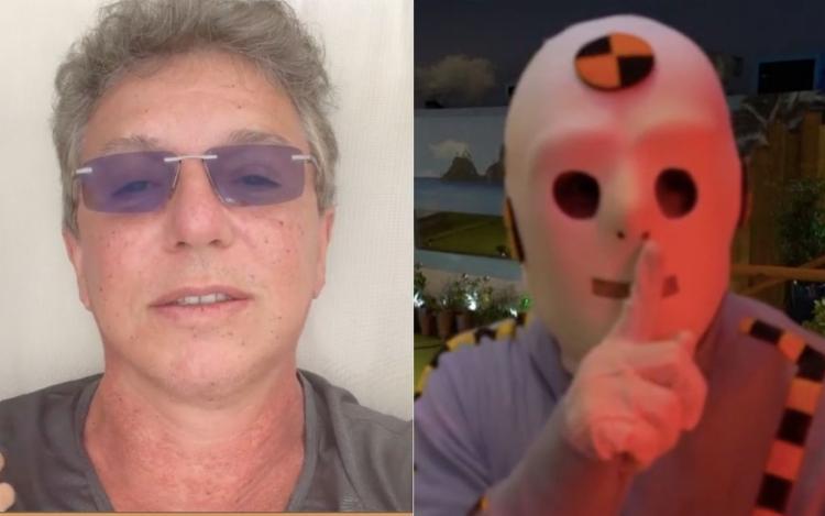 Diretor revelou que já participou de festas fantasiado de dummy | Foto: Reprodução | Instagram | TV Globo - Foto: Reprodução | Instagram | TV Globo