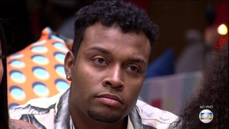 Nego Di foi eliminado com 98,76% dos votos válidos | Foto: Reprodução | TV Globo - Foto: Reprodução | TV Globo