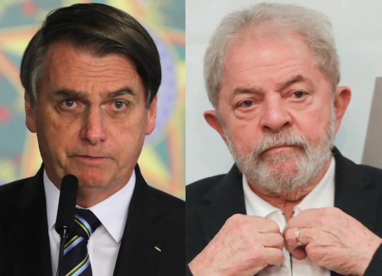 Petista supera Bolsonaro nas intenções de votos no primeiro turno, ainda que os dois permaneçam tecnicamente empatados I Foto: Reprodução - Foto: Reprodução