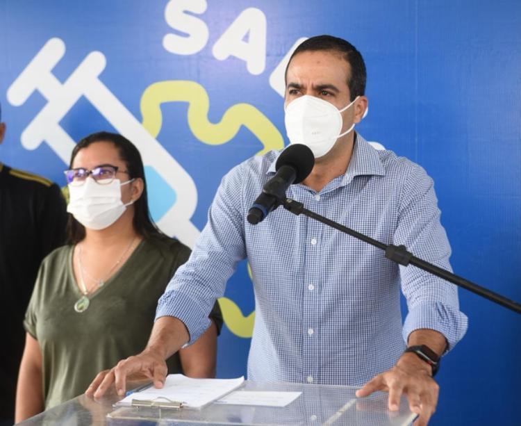 De acordo com prefeito, crise econômica causou ausência de investidores que queiram controlar a bacia - Foto: Divulgação / Secom