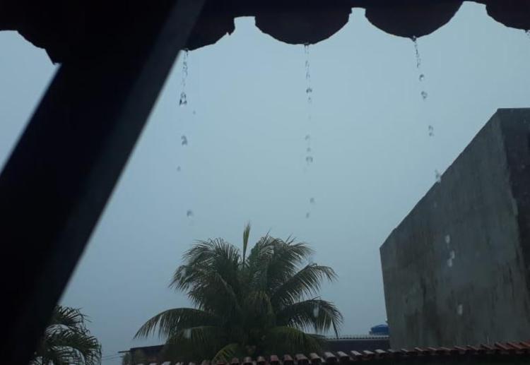 Tempo chuvoso deve permanecer no sábado | Foto: Reprodução | Cidadão Repórter - Foto: Reprodução | Cidadão Repórter