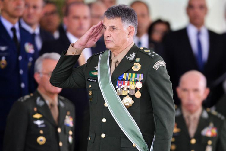 Comandante do Exército, general Edson Leal Pujol, está com os dias contados no governo - Foto: Divulgação