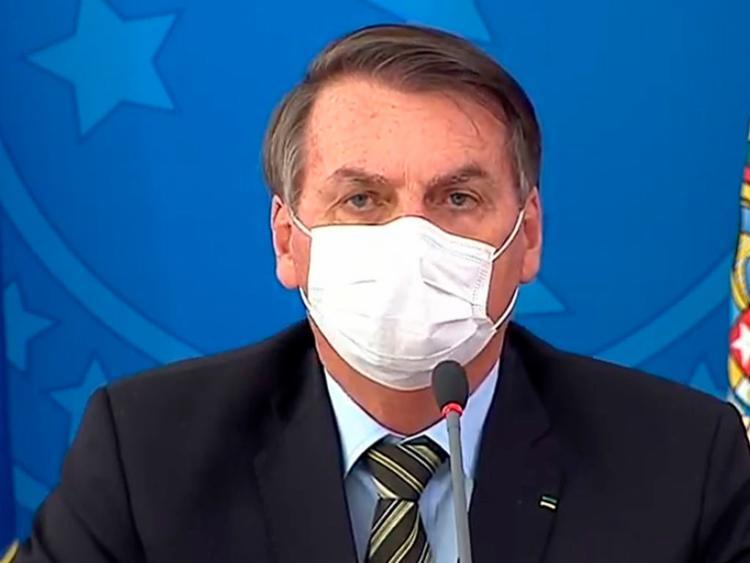 Bolsonaro convocou parlamentares e governadores para reunião - Foto: Reprodução