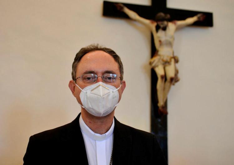 O Arcebispo apresenta um quadro gripal | Foto: Shirley Stolze | Ag. A TARDE - Foto: Shirley Stolze | Ag. A TARDE