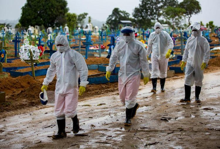 O número de pessoas recuperadas subiu para 19.479.947 | Foto: Michael Dantas | AFP - Foto: Michael Dantas | AFP