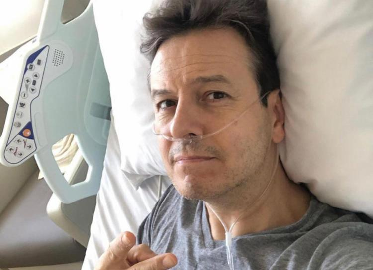 Zucatelli testou positivo para o coronavírus na última semana e estava cumprindo o isolamento em casa I Foto: Instagram - Foto: Instagram