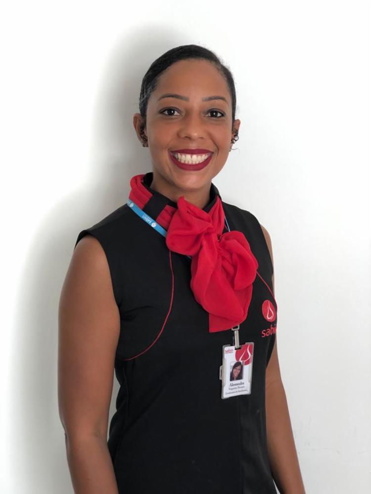 Alessandra Nogueira, pós-graduada em Gestão Executiva e Liderança Estratégica, é coordenadora de Atendimento da Sabin | Foto: Acervo Pessoal