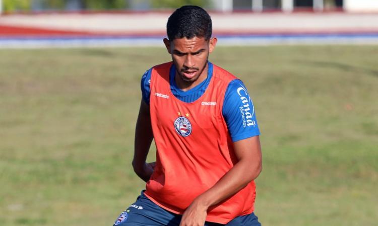 O acordo do atleta com o clube vencia no final deste ano | Foto: Felipe Oliveira | EC Bahia - Foto: Felipe Oliveira | EC Bahia