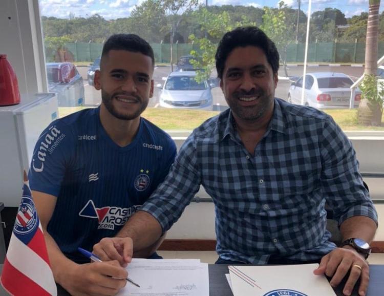 O antigo vínculo do jogador se encerrava no próximo mês, em abril de 2021 | Foto: Divulgação - Foto: Divulgação