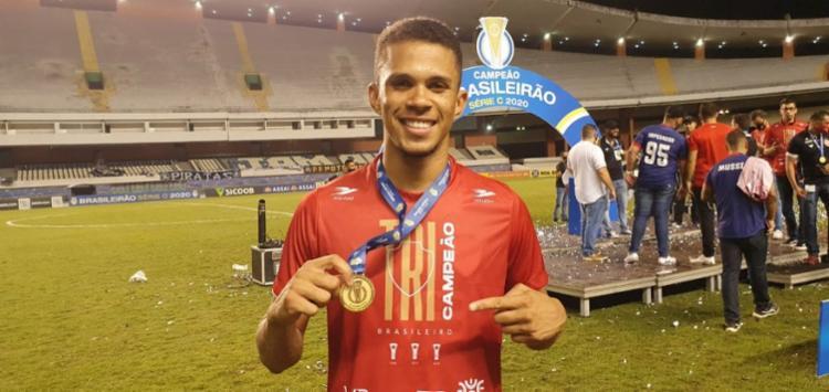 Pablo marcou um dos gols do Vila Nova-GO na final da Série C, contra o Remo | Foto: Vitor Monteiro | Esporte Goiano - Foto: Vitor Monteiro | Esporte Goiano