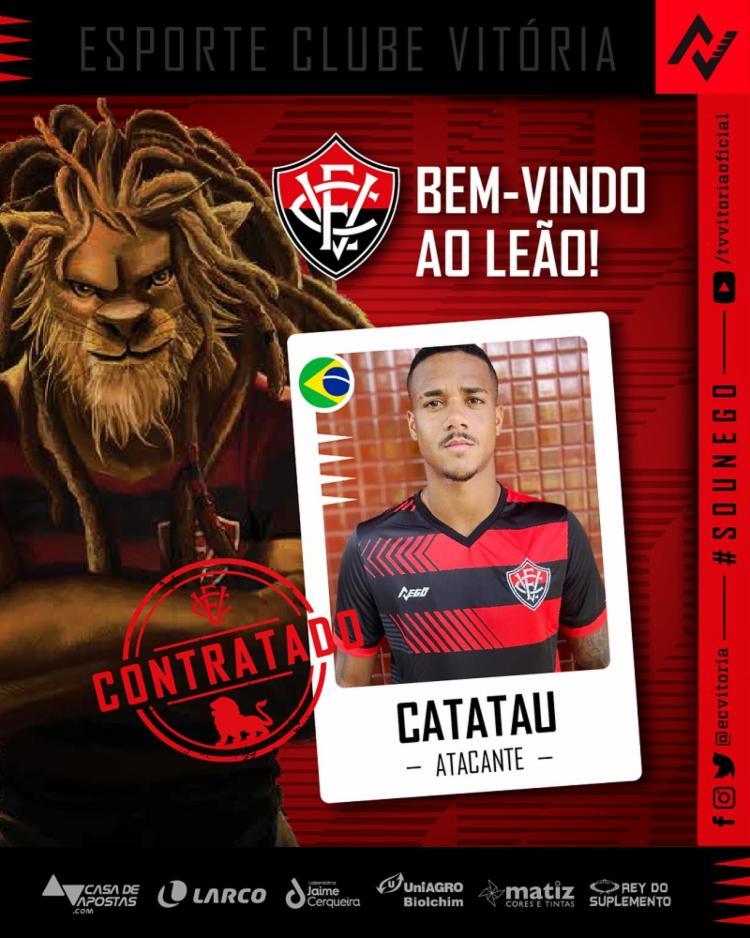 O atleta ainda aguarda nome ser publicado no BID para poder estrear pelo Leão | Foto: Reprodução | EC Vitória - Foto: Reprodução | EC Vitória