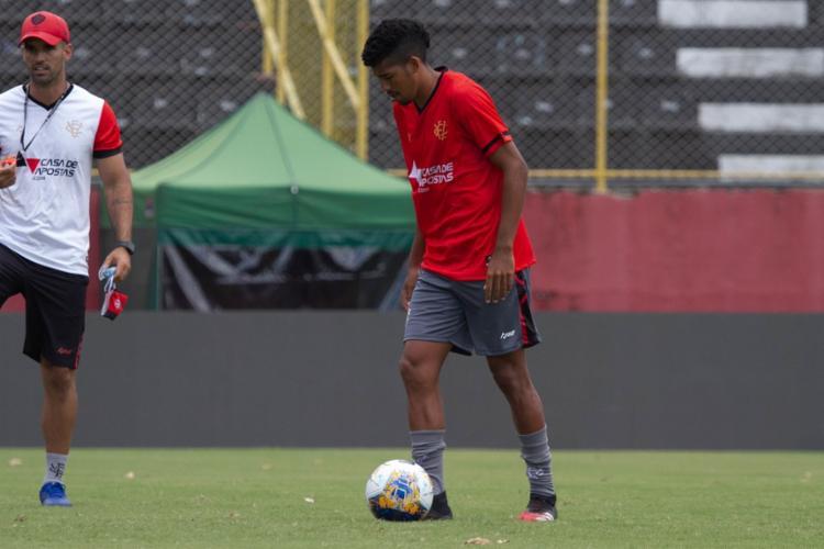 Soares deve fazer o segundo jogo como titular do Leão | Foto: Letícia Martins | EC Vitória - Foto: Letícia Martins | EC Vitória