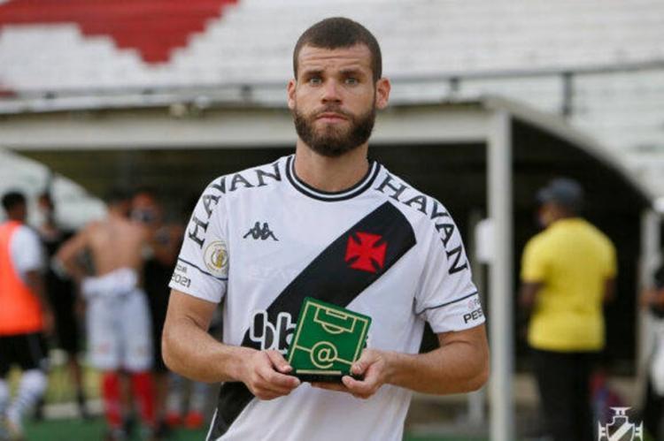 Marcelo pertence ao Madureira e estava emprestado ao Vasco da Gama em 2020 | Foto: Reprodução - Foto: Reprodução