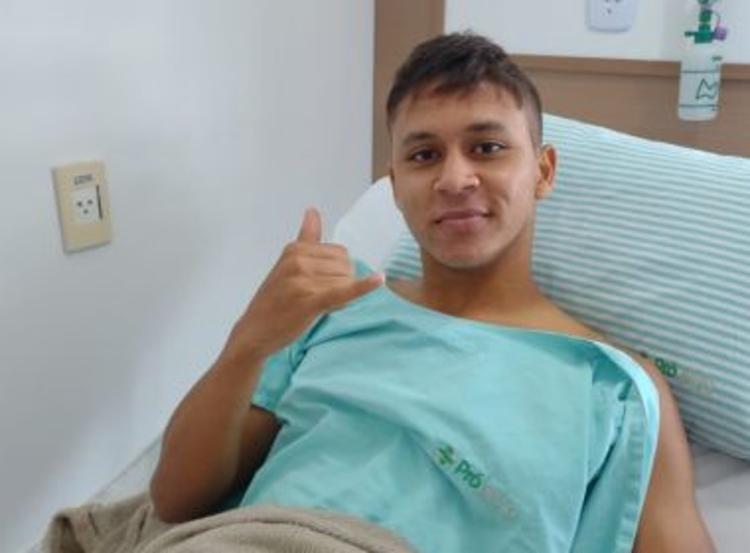 Jogador inicia fisioterapia nesta quinta-feira, 25, na Toca do Leão | Foto: Divulgação - Foto: Divulgação