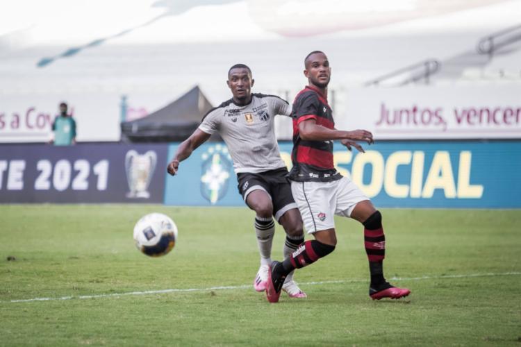 Autor de dois gols na partida, Saulo Mineiro foi o nome do jogo   Foto: Felipe Santos   C.S.C - Foto: Felipe Santos   C.S.C