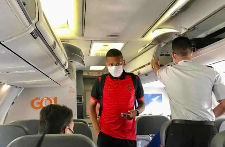 Nos últimos dias, o atleta tem sido envolvido em uma possível negociação com o Bahia | Foto: Divulgação | EC Vitória - Foto: Divulgação | EC Vitória