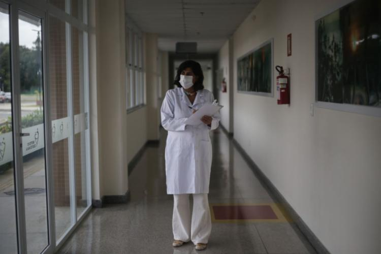 Mulheres da saúde contam suas histórias; na foto, Ceuci Nunes, diretora geral do Instituto Couto Maia - Foto: Raphael Muller / Ag. A TARDE