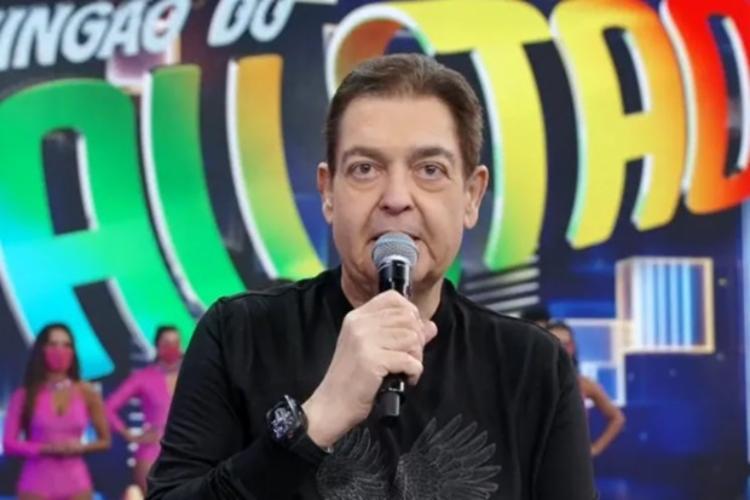 Tratamento foi por conta de um edema linfático na perna   Foto: Reprodução   TV Globo - Foto: Reprodução   TV Globo