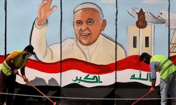 O ataque foi registrado a dois dias de uma visita histórica do Papa Francisco ao país | Foto: Ahmad Al-Rubaye | AFP - Foto: Ahmad Al-Rubaye | AFP