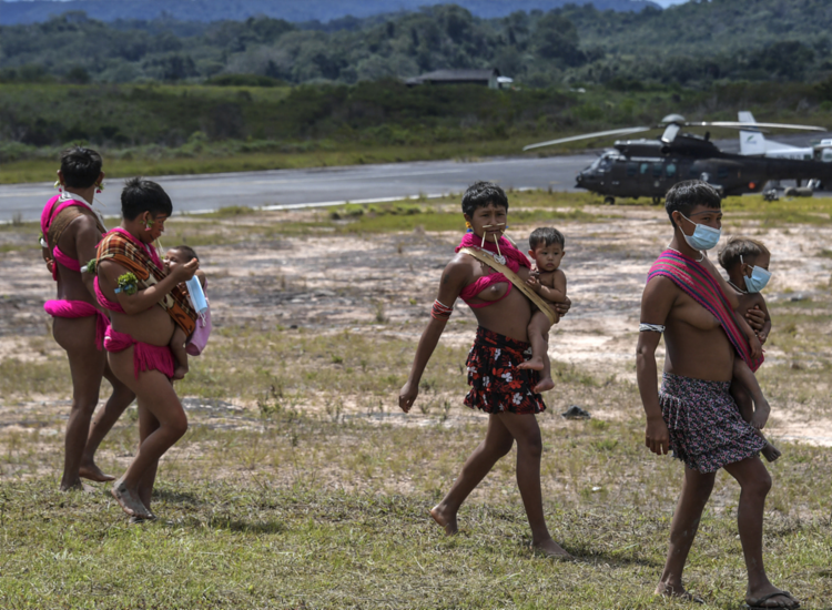População yanomami que chega atualmente a 27 mil indivíduos   Foto: Nelson Almeida   AFP - Foto: Nelson Almeida   AFP