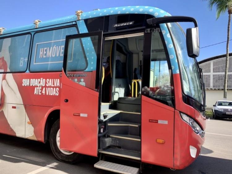 Coleta itinerante passou por manutenção nesta segunda-feira, 29 | Foto: Divulgação | GOVBA - Foto: Divulgação | GOVBA