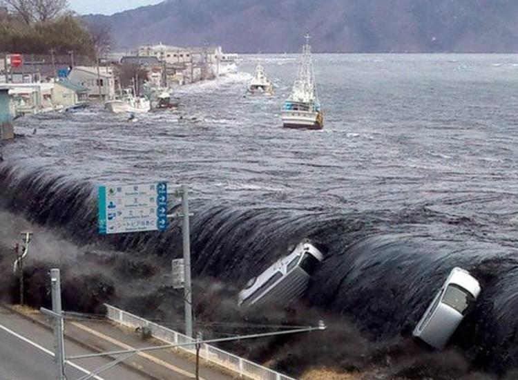 Gigantesco tsunami foi a principal causa das 18.500 mortes ou pessoas desaparecidas   Foto: Jiji Press   AFP - Foto: Jiji Press   AFP