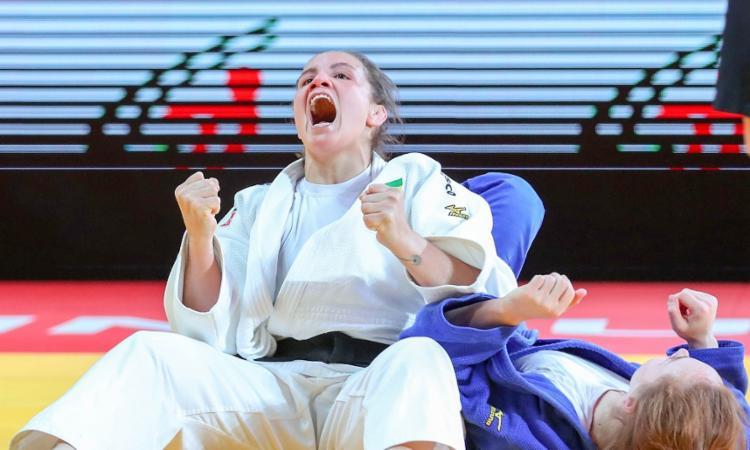 Gaúcha foi ao topo do pódio no Grand Slam de Tbilisi, na Geórgia | Foto: Reprodução | Marina Mayorova - Foto: Reprodução |Marina Mayorova