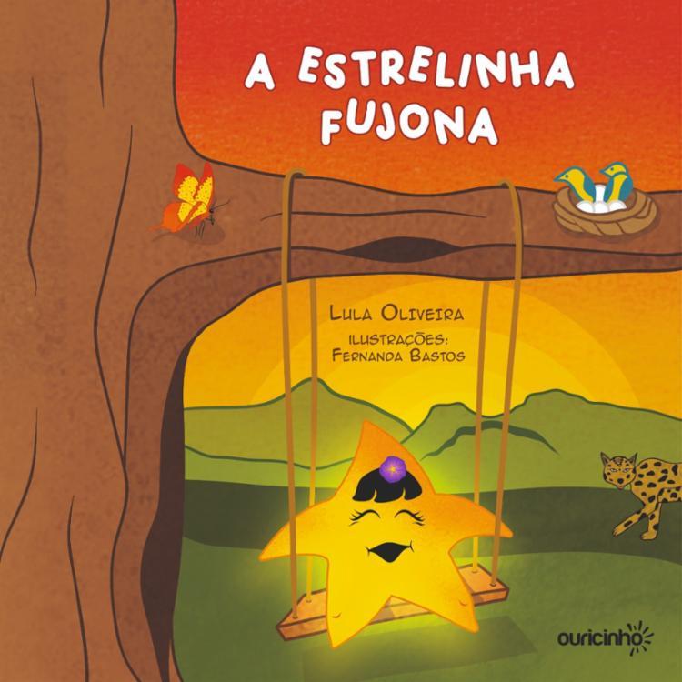 O livro A Estrelinha Fujona, que será lançado no dia 10 de abril, nas versões impressa e e-book, pela Pinaúna Editora. - Foto: Divulgação