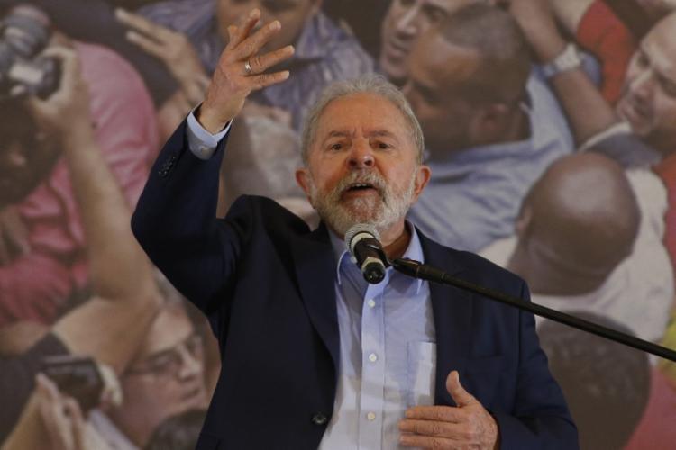 Em seu discurso, Lula se disse