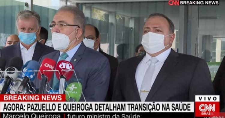 Novo ministro da Saúde pediu união nacional para enfrentar a pandemia / Foto: Reprodução | YouTube - Foto: Reprodução | YouTube