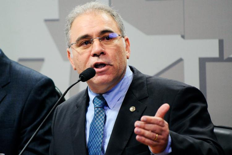 Marcelo Queiroga deu declarações mostrando alinhamento com a posição de Bolsonaro - Foto: Divulgação
