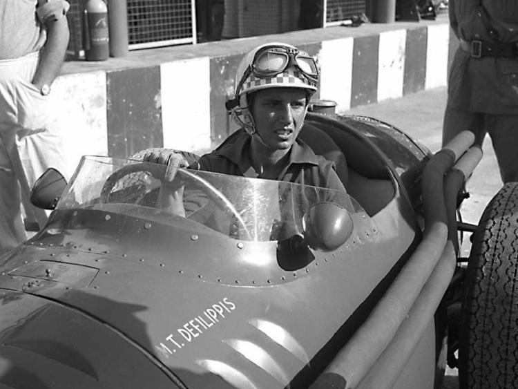 Maria Teresa, primeira mulher a disputar um GP de Fórmula 1 | Foto: Divulgação - Foto: Divulgação
