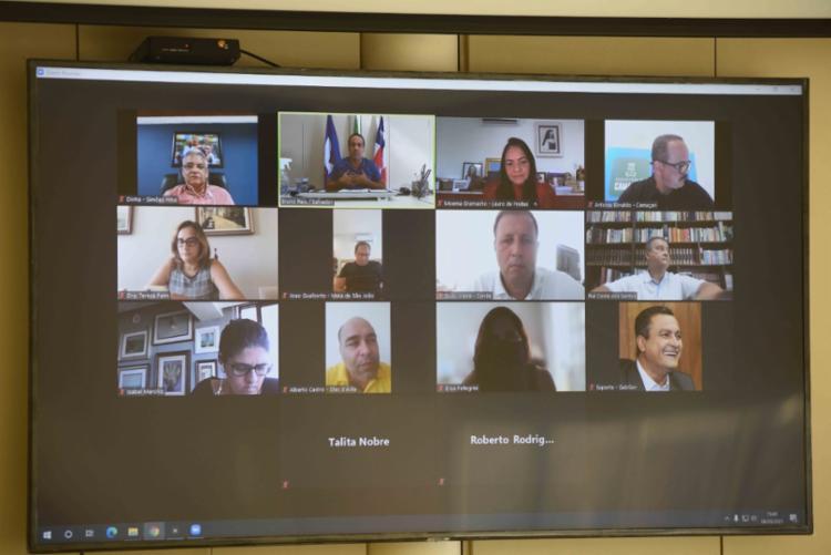 Decisão foi tomada em conjunto pelo prefeito da capital baiana, Bruno Reis, o governador Rui Costa e gestores da RMS - Foto: Divulgação | PMS