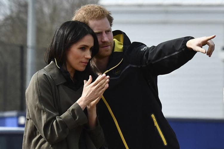 Meghan, esposa do príncipe Harry, disse estar