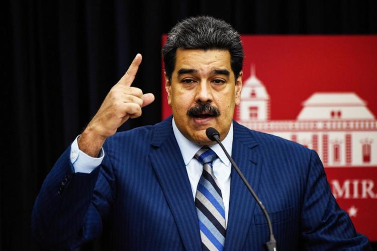 Em 24 de julho, Maduro disse que esperava que fosse no México em agosto   Foto: AFP - Foto: AFP