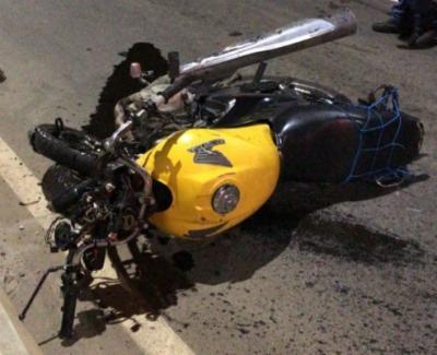 Vítima morreu no local do acidente | Foto: Reprodução | Cidadão Repórter