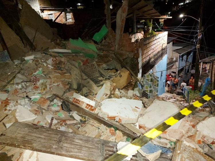 Acidente foi registrado na localidade conhecida como Beco do Bozó, na noite desta quarta-feira, 10   Foto: Divulgação   Codesal - Foto: Divulgação   Codesal