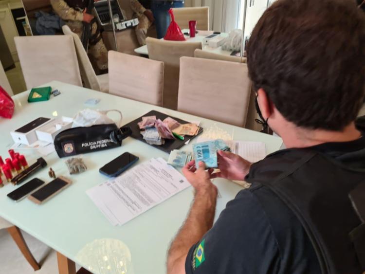 Investigados serão indiciados pelos crimes de organização criminosa e tráfico internacional de drogas | Foto: Divulgação | PF - Foto: Divulgação | PF