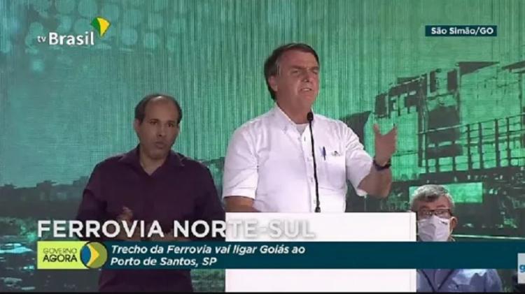Bolsonaro voltou nesta quinta-feira, 4, a minimizar a pandemia e criticar as medidas de isolamento social. - Foto: Reprodução