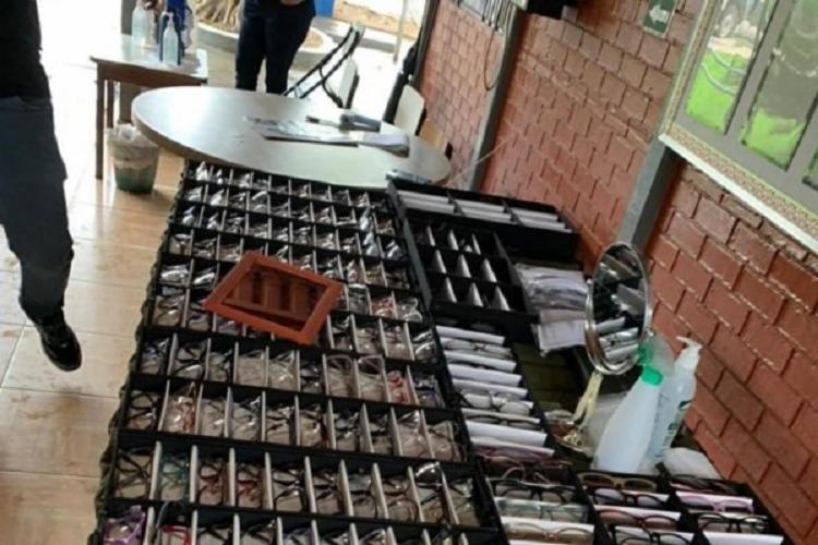 Falso médico tinha os equipamentos de consulta, mesmo sem a formação necessária e registro profissional | Foto: Ascom | Policia CIvil - Foto: Divulgação: Ascom | Policia Civil
