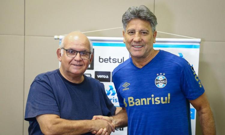 Técnico comanda Tricolor gaúcho desde setembro de 2016 | Foto: Divulgação | Lucas Uebel - Foto: Divulgação | Lucas Uebel