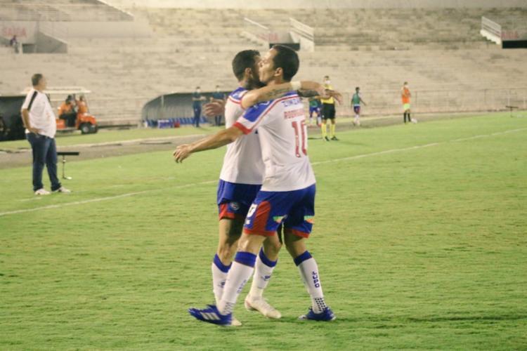 O atacante Rossi marcou três gols e foi o grande destaque da partida | Foto: Reprodução | Twitter - Foto: Reprodução | Twitter