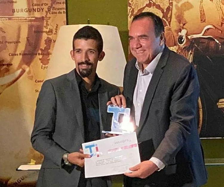 Ruben Delgado, sócio-fundador da Getin, e Ramon Santos, gestor de inovação, e Ruben Delgado, sócio-fundador   Foto: Assespro-BA   Divulgação - Foto: Assespro-BA   Divulgação