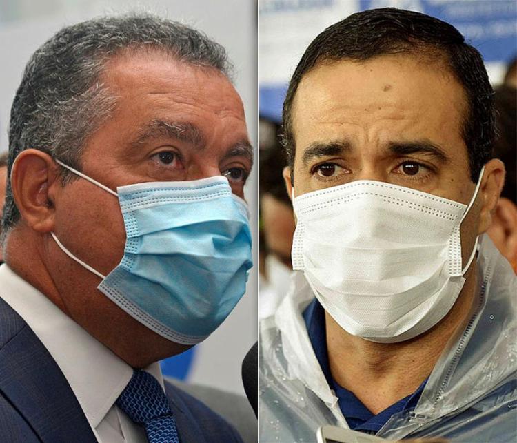 Rui e Bruno criticaram o posicionamento de governantes que têm prometido acelerar a vacinação
