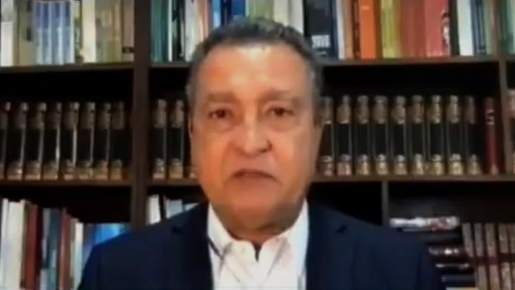 O governador da Bahia foi às lágrimas ao comentar sobre a prorrogação das medidas restritivas no estado | Foto: Reprodução - Foto: Reprodução